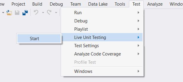 03-Live Unit Testing